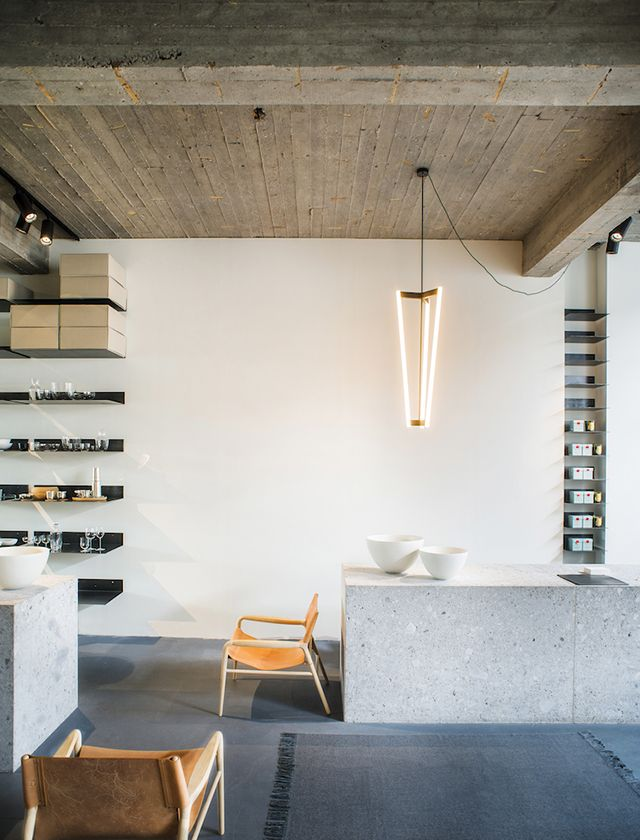 TDC Magazyn Antwerp BelgiumRetail InteriorInterior Design