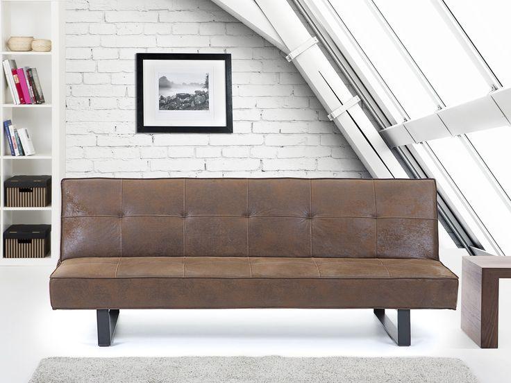 25 beste idee n over slaapbank woonkamers op pinterest kleine plekjes canap en decoratieve - Sofa kleine ruimte ...