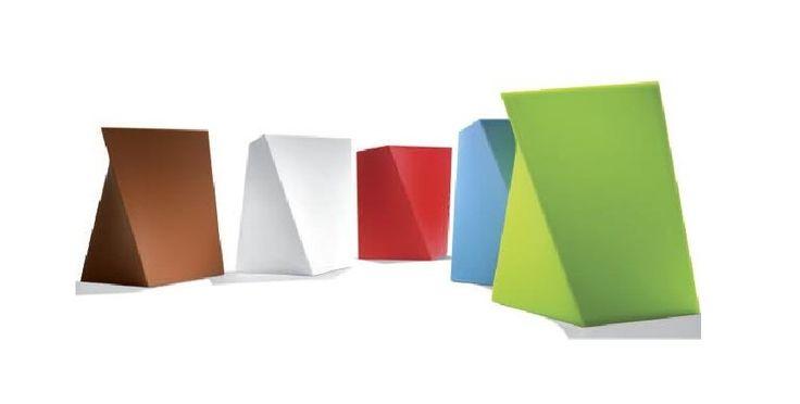oryginalne kształty puf biurowych
