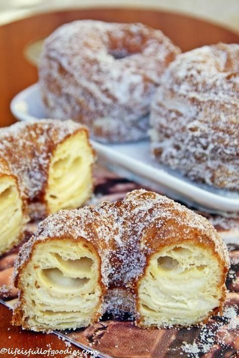 YEAHHH! Es gibt Cronuts. Cronuts sind DAS Trendgebäck aus New York. Die MUSS man jetzt einfach kennen! Und probieren!! Aber was sind Cronuts denn eigentlich?? Erfunden hat es vor kurzem der Kondito...
