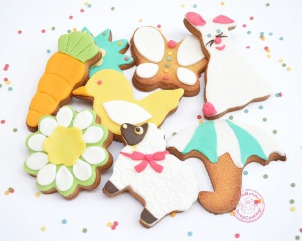 Biscuits Printaniers Scrapcooking Gateau Anniversaire Original Biscuits Decores Biscuits