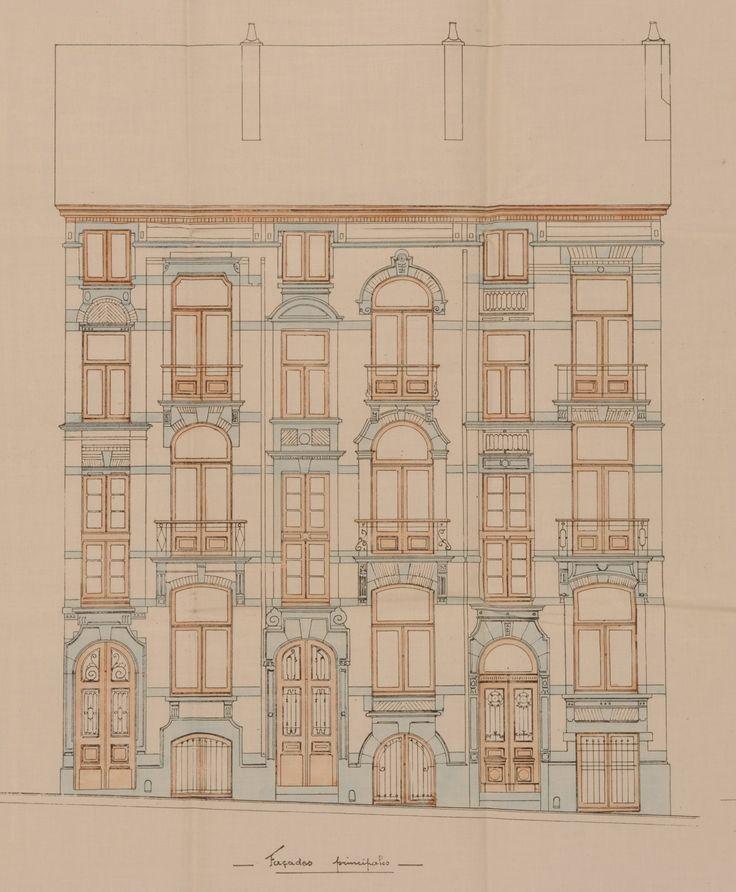 Ixelles - Rue Gachard 9, 11, 13