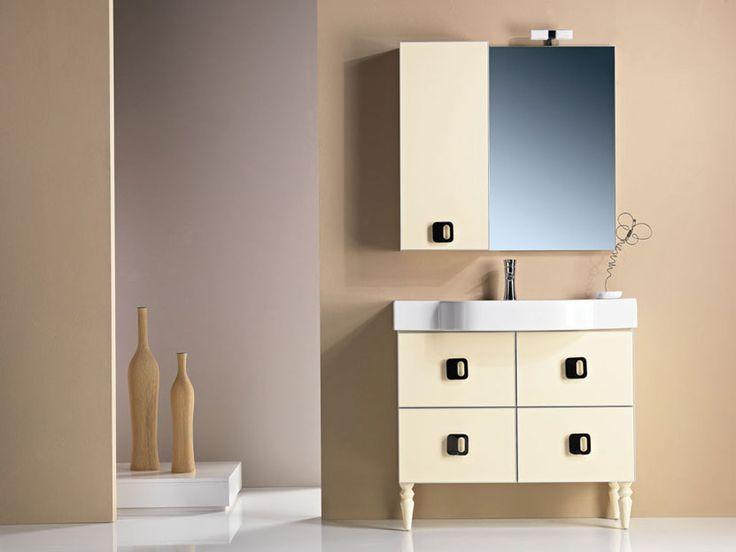 """PLAY"" BATHROOM FURNITURE,home,new,interior design,accesories,set,new,style,bath,tiles,product,idea,decoration,woman,mirror,porcelain,επιπλο μπανιου,μπανιο,νιπτηρας,καθρεπτης,πλακακια,idea,spa,architecture,decoration,beige,white"