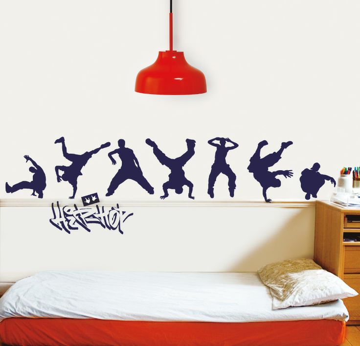 Hip hop for Stickers decorativos