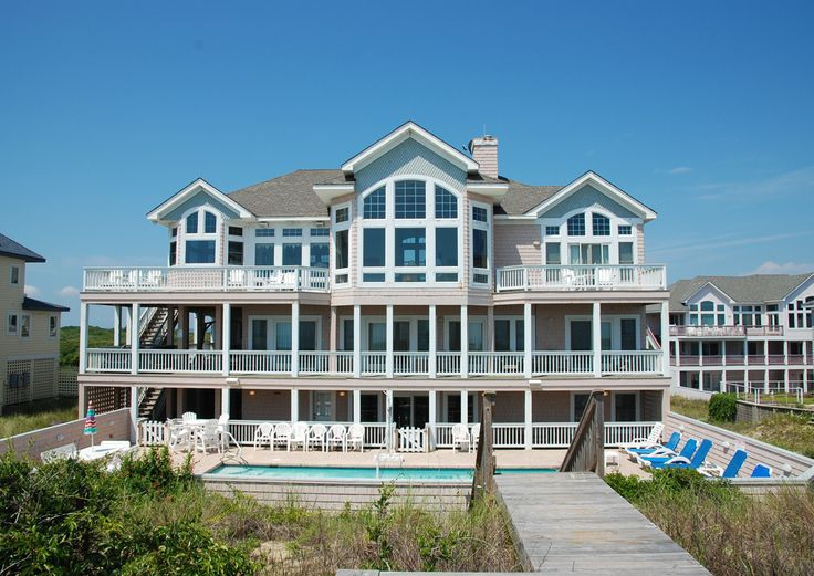 Ocean Serenade E238 Is An Outer Banks Oceanfront Vacation Rental In Pine Island Corolla Nc