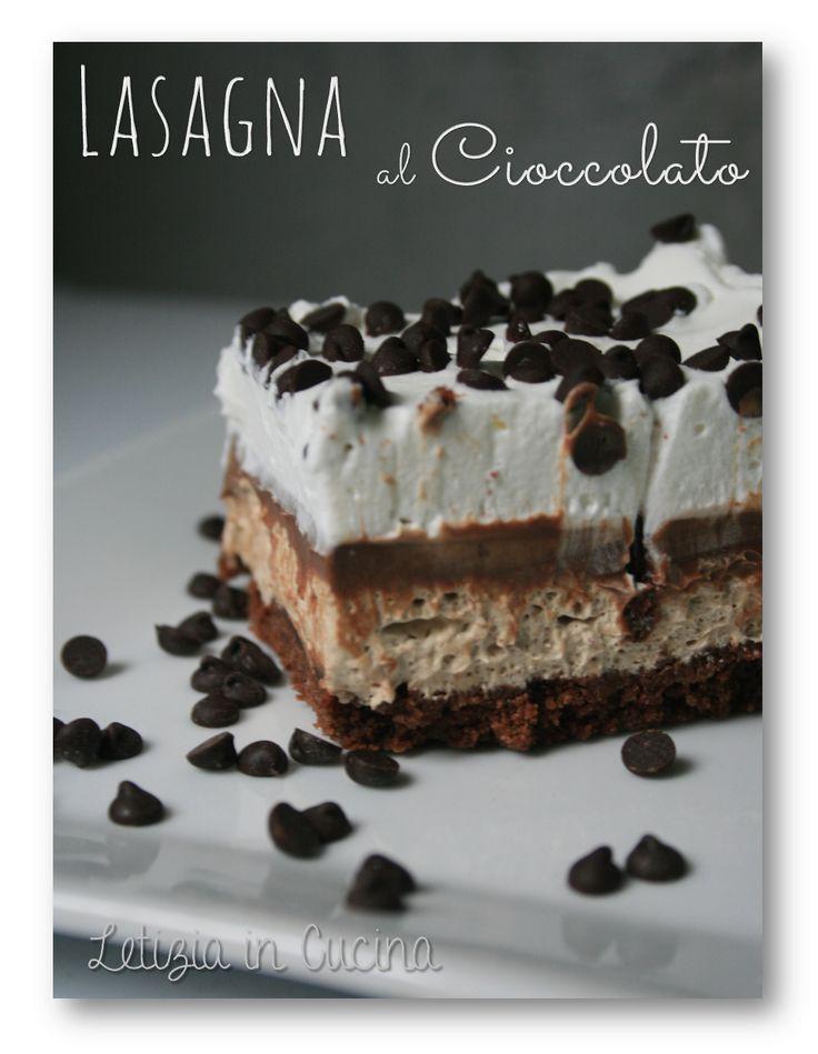 Lasagna di cioccolato - Chocolate Lasagna