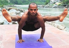 Swami Sidharth Sankar Anuka  	 He is an master graduate from Rishikesh Yoga Institute, India and teaches yoga and philosophy  	http://ashtangayogarishikesh.com/index.php