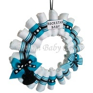 rock star baby shower decorations