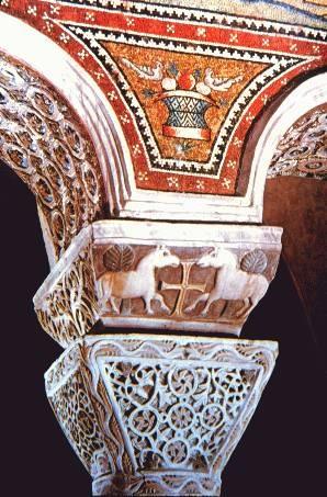 Capitel bizantino de San Apolinar  Ravenna