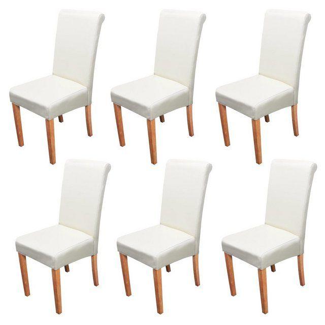 Mcw Esszimmerstuhl Lecce Ii 6er Set Stuhlbeine Aus Holz Online Kaufen Kuchenstuhle Stuhle Esszimmerstuhle