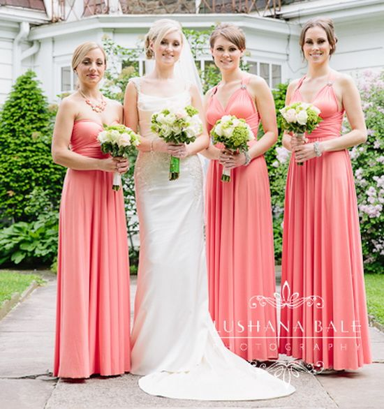 80 Best Peach And Pink Bridesmaid Dresses Images On