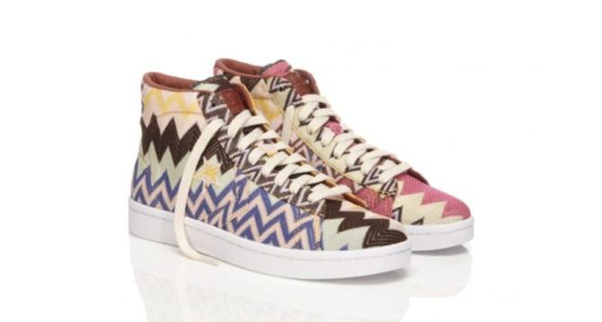 @Converse diseñadas por Missoni. #zapatos #calzado