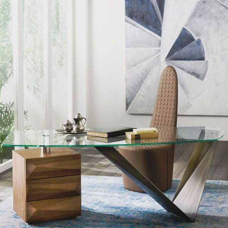 PRIZMA OFFICE SUITE! Italian Canaletto Walnut paired with #bronze2015 base is the organic way to go this year! see the suite in detail at www.sovereigninteriors.com.au or enquire now!