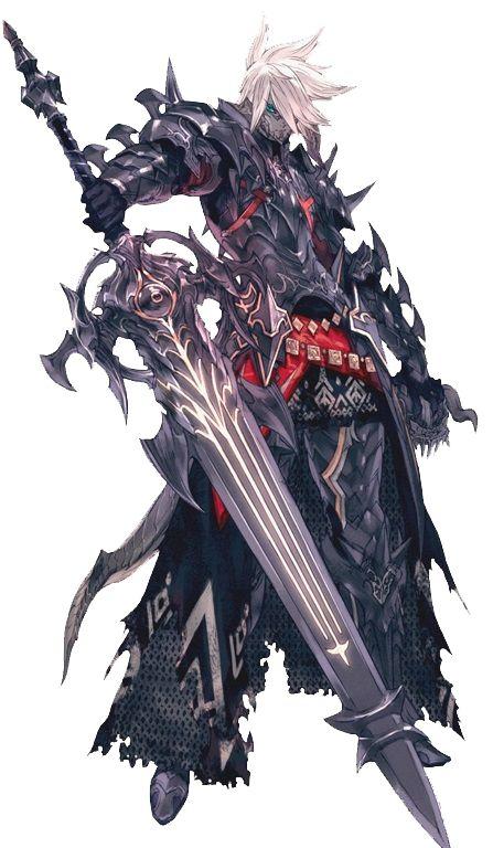 Dark knight artwork FFXIV