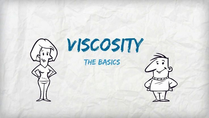 """Viscosity: the Basics - a great video to answer the question, """"what is viscosity?"""""""