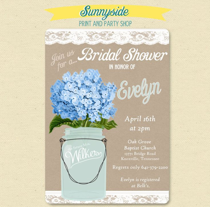 15 best Hydrangeas Bridal/Baby Shower images on Pinterest