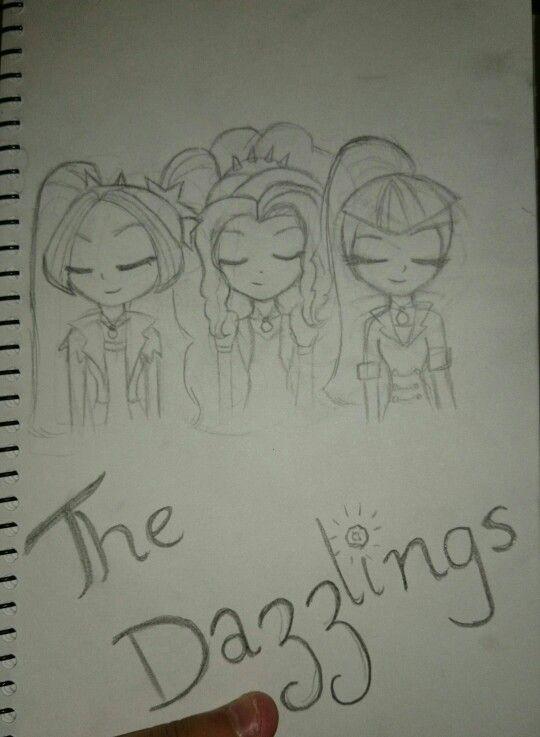The dazzlings fanart by me