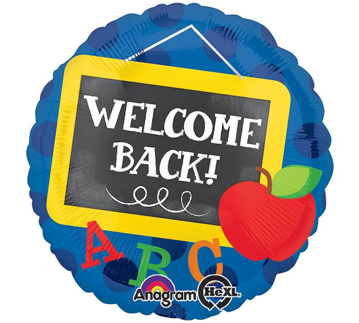 Start the school year of right with Welcome Back Balloons! #burtonandburton