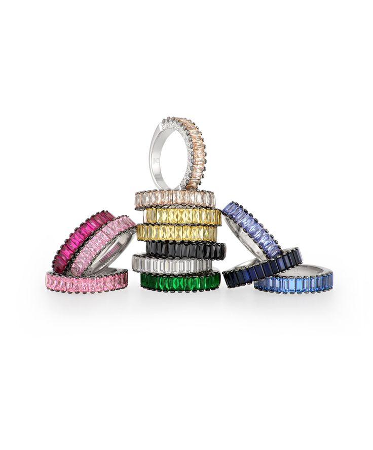 Rainbow colours :-) Jenna Clifford Designs | Renaissance � Rings