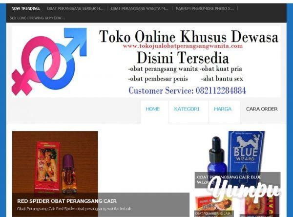 www.tokojualobatperangsangwanita.com - Magazine with 1 pages: toko online khusus dewasa terlengkap terpercaya harga murah jual obat peangsang gairah nafsu birahi libido wanita, alat bantu sex pria wanita, obat kuat pria tahan lama, obat pembesar penis