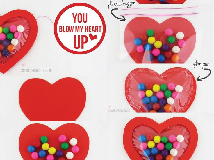 A bubble gum valentine craft and and free printable tutorial for you!