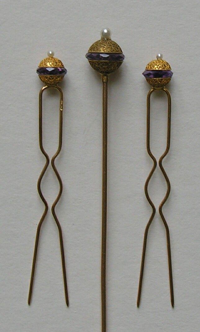 hair pin set  redrobinantiques.com