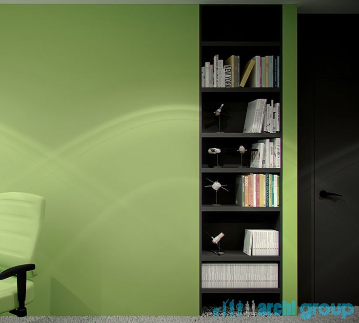 Room for teenager design, POLAND - archi group. Pokój dla nastolatka.