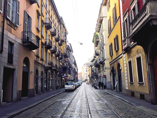 Fünf Tage in Mailand. | Texterella
