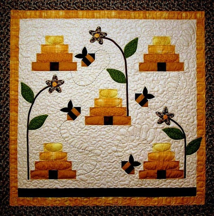 What's All The Buzz? Bee Quilt Pattern pattern on Craftsy.com   xox
