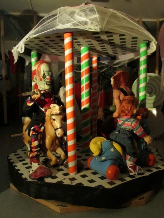 merry go round with chucky his bride lifes a ride with spirit halloween by - Spirits Halloween Alexandria La