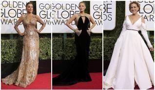 Los mejores y peores vestidos de los Globos de Oro 2017