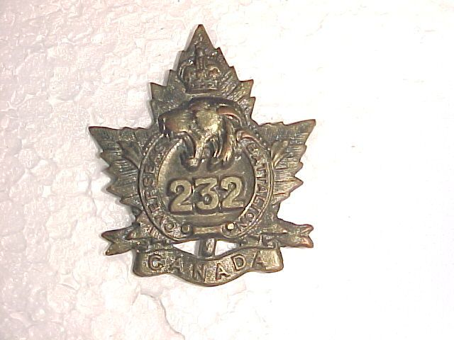 232nd Infantry Battalion Cap
