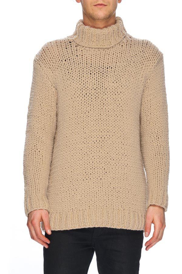 NEUW - Roll Neck Knit Stone