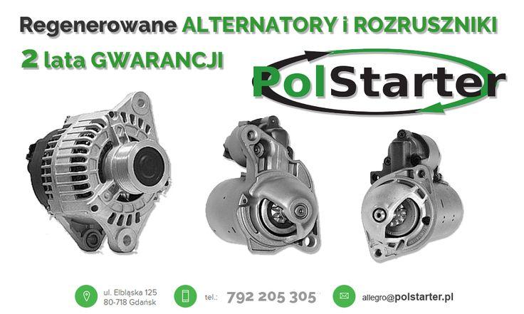 ⚫ Na nasze regenerowane alternatory i rozruszniki udzielamy aż 2 - letniej gwarancji❗  🚗🚕🚙🚌🏎🚓🚑🚒🚐🚚🚜🚖🚘🚍🚔 ⚫ Zajrzyj do naszego sklepu:  ➜ www.sklep.polstarter.pl ⚫ KONTAKT: 📲 792 205 305 ✉ allegro@polstarter.pl #regenerowaneczęści #alternatoryrozruszniki #mechanikapojazdowa