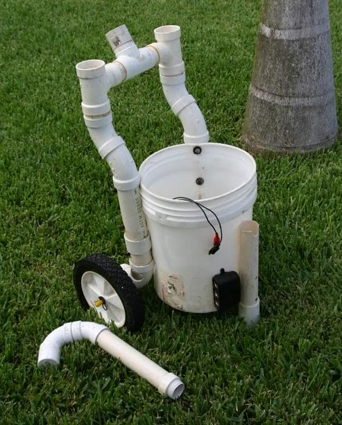 Homemade gizmos the hull truth boating and fishing for Homemade fishing cart