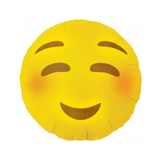 Blush Face Love Eye Emoji Balloon Grad Party Photo Booth