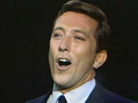 "Andy Williams, ""The Most Wonderful Time Of The Year"" 