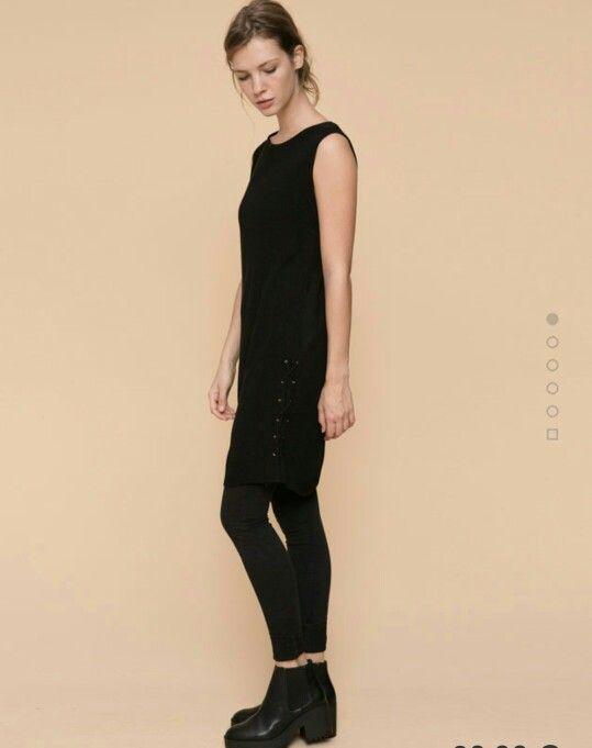 Black dress autumn
