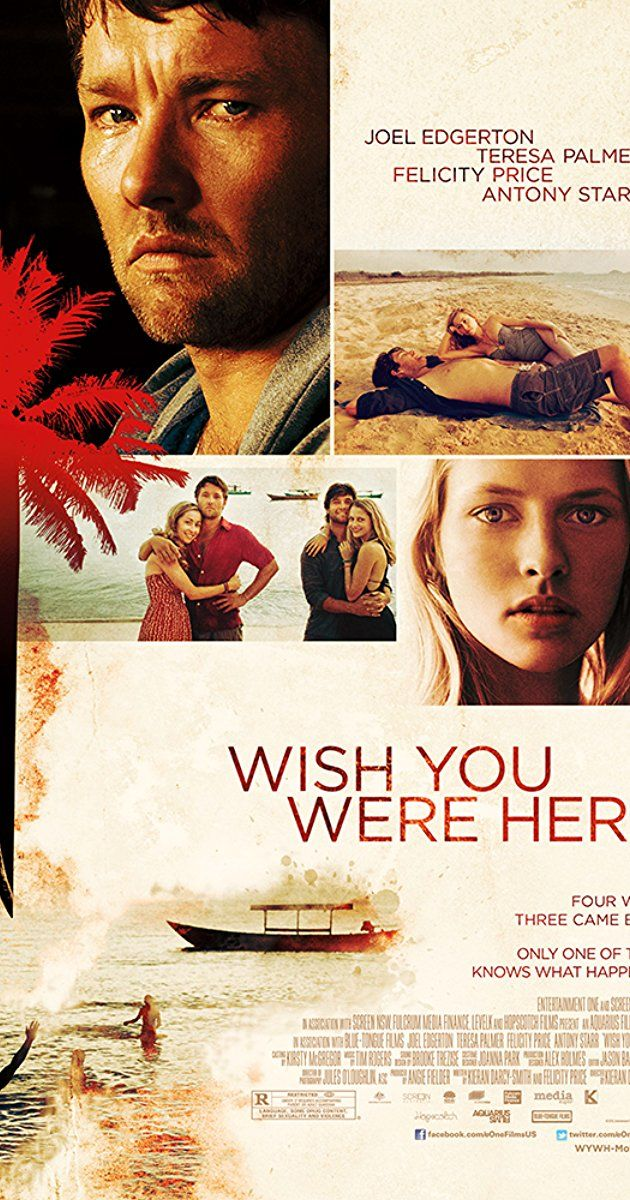 Directed by Kieran Darcy-Smith.  With Joel Edgerton, Teresa Palmer, Felicity Price, Antony Starr. Four friends lose themselves in a carefree South-East Asian holiday. Only three come back. Dave and Alice return home to their young family desperate for answers about Jeremy's mysterious disappearance. When Alice's sister Steph returns not long after, a nasty secret is revealed about the night her boyfriend went missing. But it is only the first of many. Who amongst them knows what happe...
