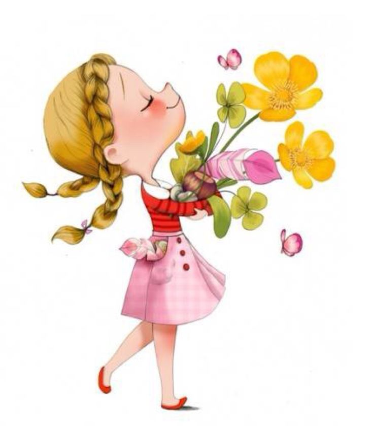 ✿ awwww - i'm wishing you all a beautiful day!!! {by Emmanuellle Colin)