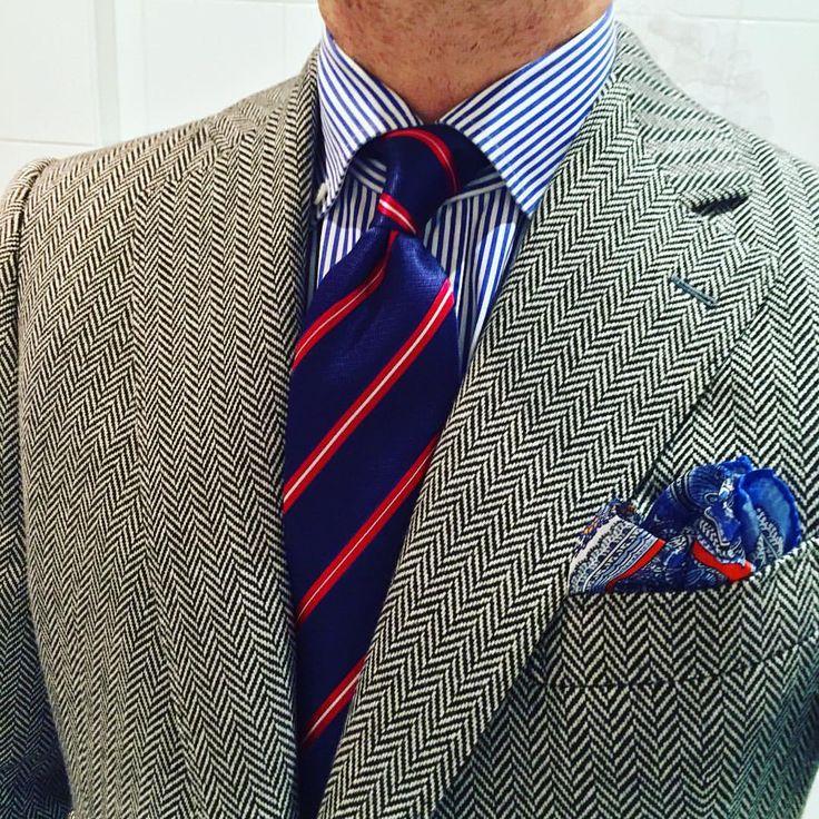 Silk tie light blue striped Nicky 8uYKt853