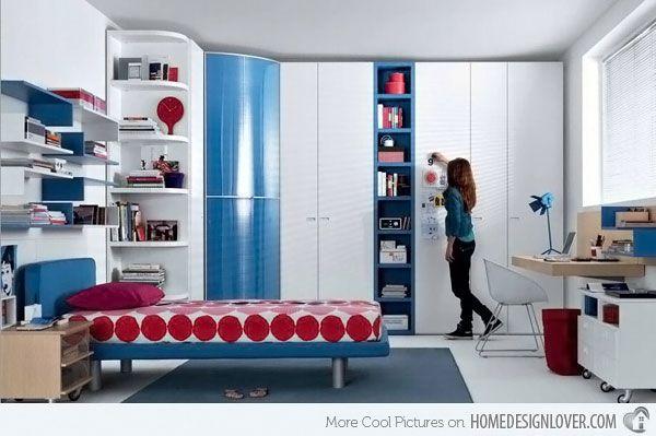 20 Stylish Teenage Girls Bedroom Ideas | Home Design Lover