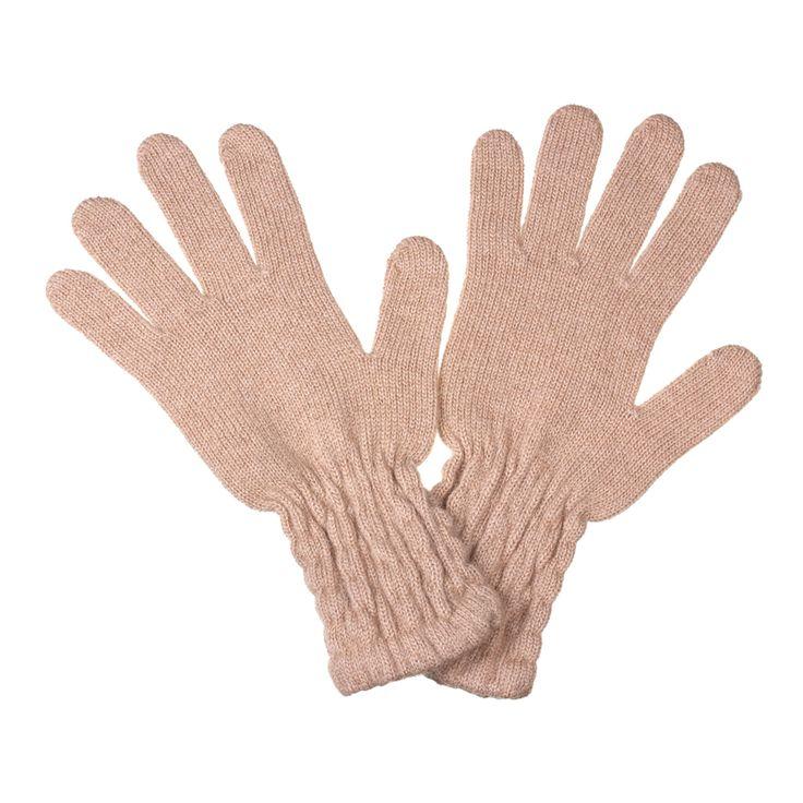Перчатки из верблюжьего пуха