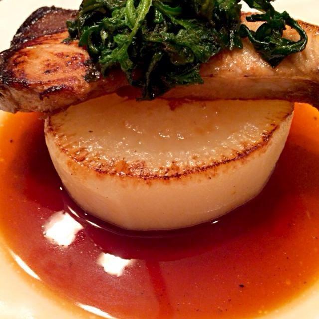 ぶりと大根の美味しい季節に♪ - 73件のもぐもぐ - ぶりの照り焼き大根ステーキ添え by heeko