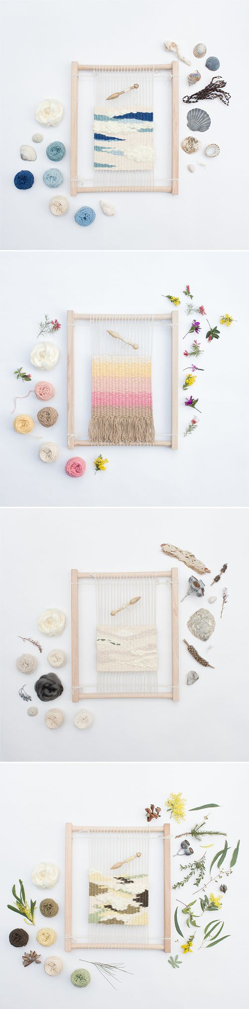 Eco Weaving Kit for beginners by Alchemy. @rruuubbyy