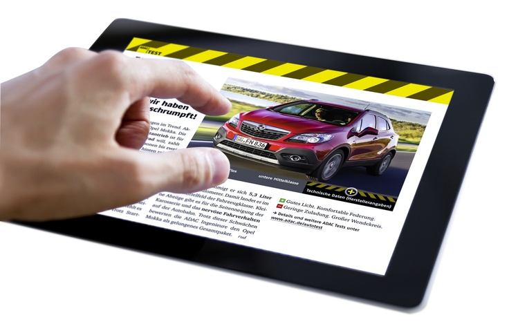 Die ADAC Motorwelt App ist jetzt erhältlich für iPad und Android Tablets