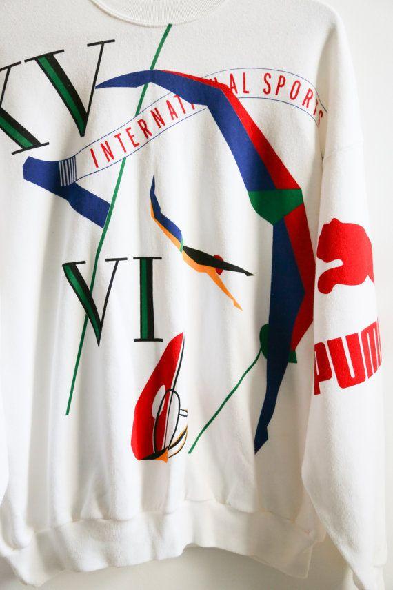 Rare Puma SEOUL 1988 Olympic Games size L par EuroCrisis sur Etsy