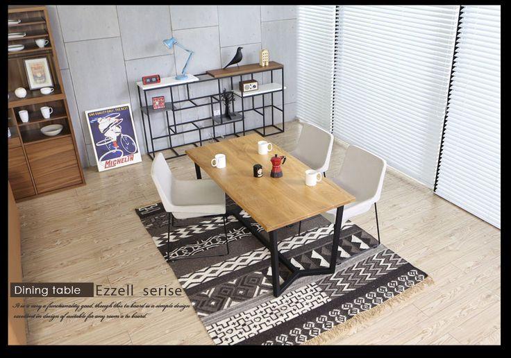 【楽天市場】ダイニングテーブル ダイニング 木製 無垢材 伸縮 テーブル 食卓 Ezzell 天然木 オーク ウォールナット モダンテイスト モダンリビング 北欧テイスト ナチュラルテイスト デザイナーズ シンプル:Armonia あるもにあ