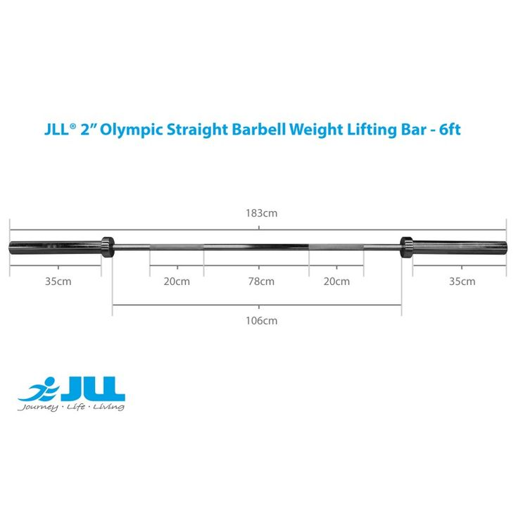 Olympic Weight Lifting Bar 6ft
