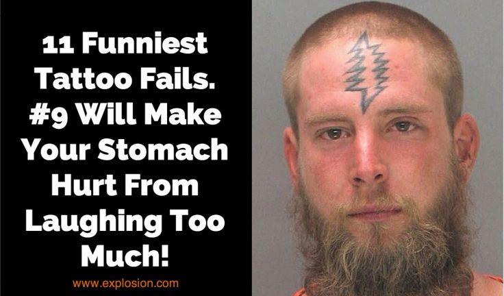 11 Funniest Tattoo Fails. LOL, #9 Will Make Your Stomach Hurt
